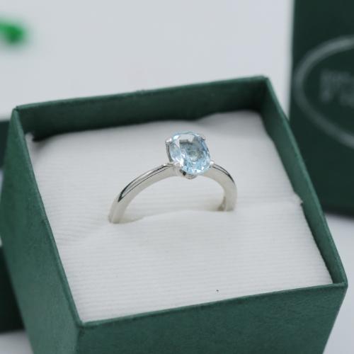 แหวนประจำราศีธนู บลูโทปาส