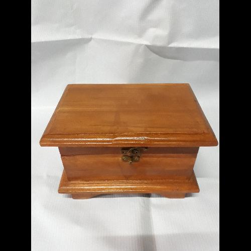 กล่องสมบัติไม้สักทอง แพร่