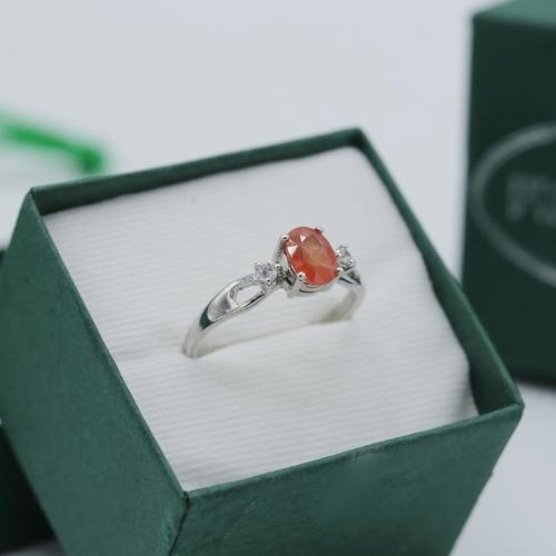 แหวนประจำวันเกิด วันพฤหัสบดี สเปสซาไทท์