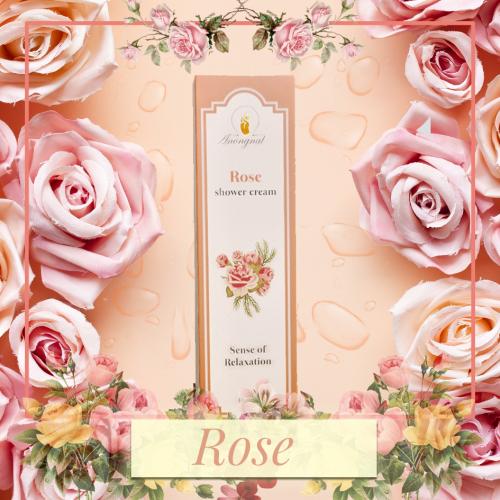 ครีมอาบน้ำAnongnat กลิ่น Rose ขนาด 400 มล.- Premium box