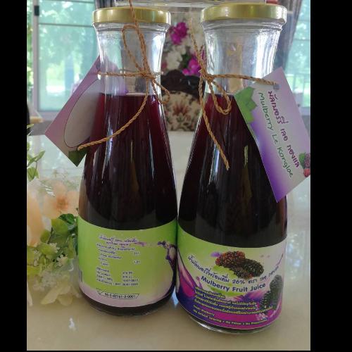 น้ำมัลเบอร์รี่พร้อมดื่ม 950 ml จำนวน 1 ขวด(สินค้ามี อย.)