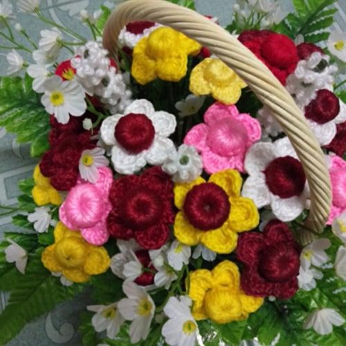 ดอกไม้โครเชต์