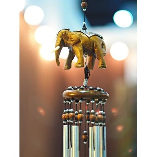 โมบายฮวงจุ้ย ช้าง เสริมดวงด้านสติปัญญา โชคลาภ