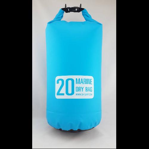 กระเป๋ากันน้ำ Marine dry bag 20L สีฟ้า