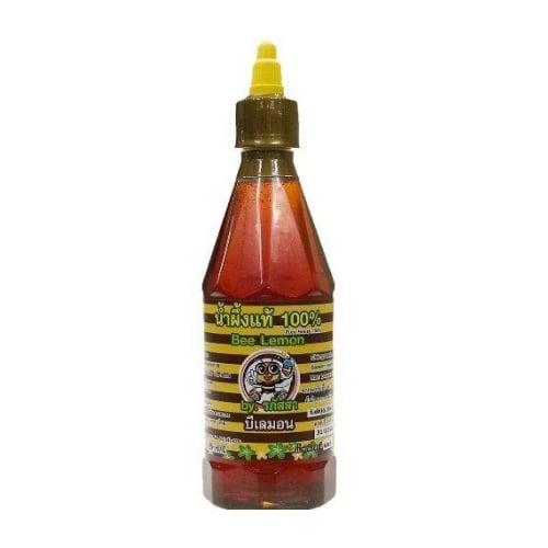 น้ำผึ้งแท้ BeeLemon 100% จากเกสรดอกลำไย 600 กรัม