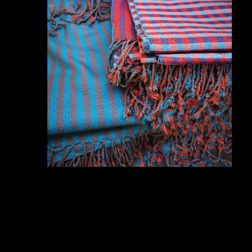 ผ้าพันคอ ทอมือ