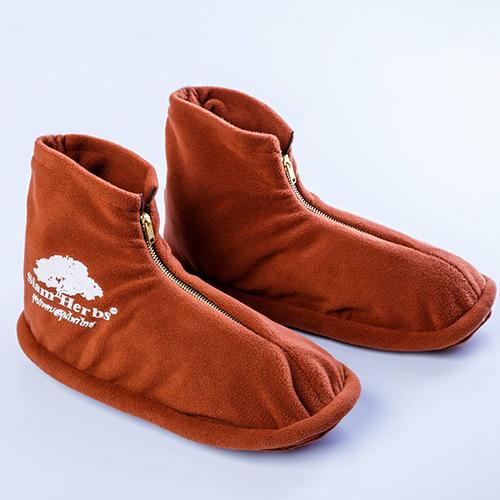 ถุงประคบสมุนไพร รองเท้า แบบไฟฟ้า
