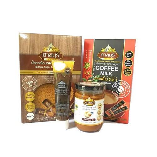 ผลิตภัณฑ์น้ำตาลโตนดแท้จากธรรมชาติ SET6