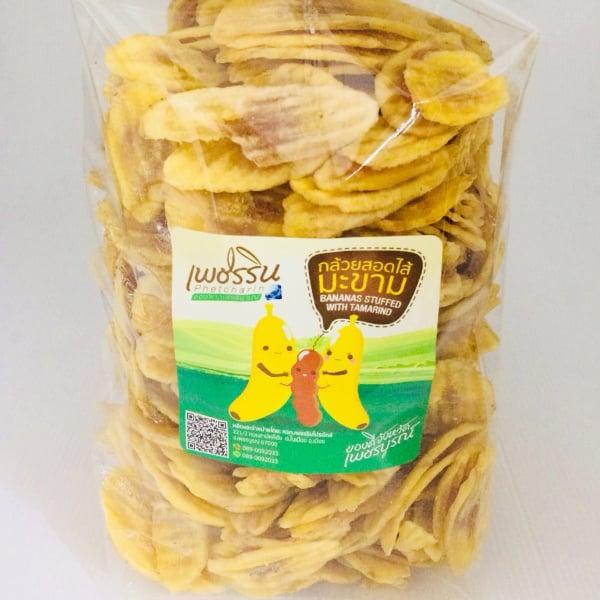กล้วยหักมุกลายสอดไส้มะขาม 1 กิโลกรัม