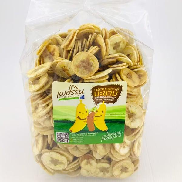 กล้วยน้ำว้าไส้มะขาม 1 กิโลกรัม