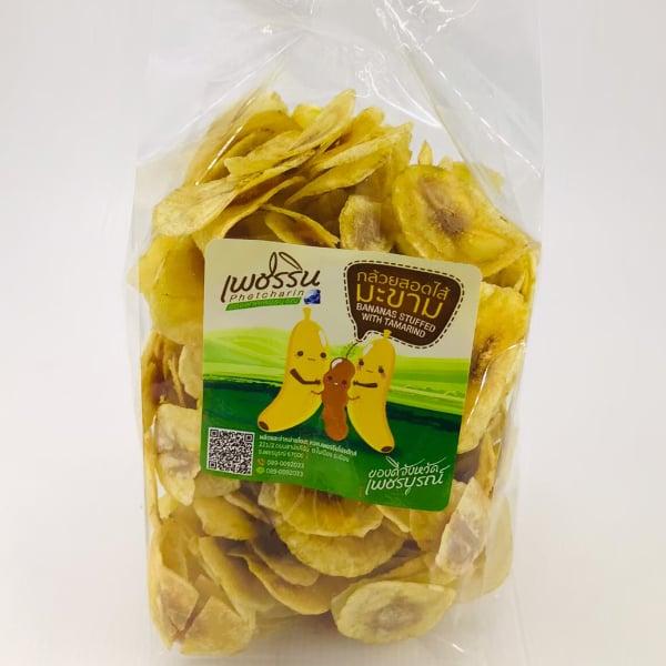 กล้วยหักมุกบางไส้มะขาม 1 กิโลกรัม