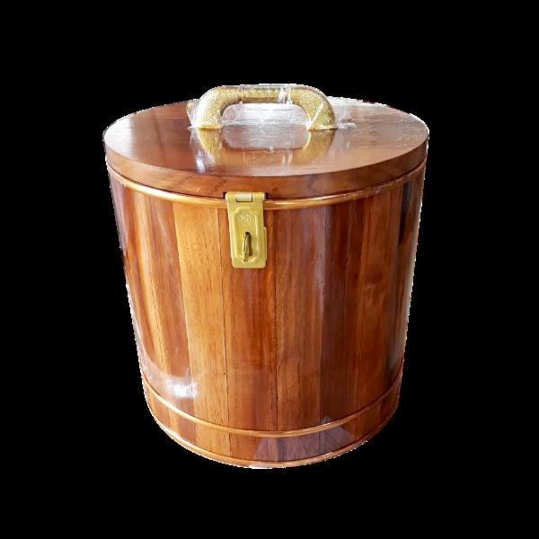 กระปุกออมสินไม้สักทอง