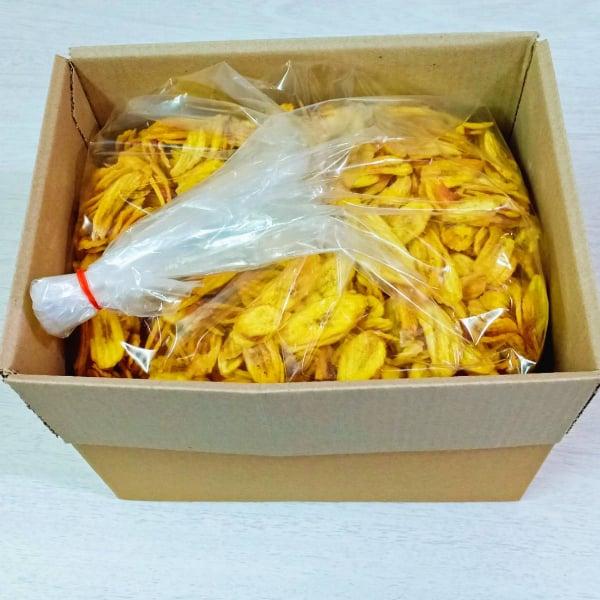 กล้วยไข่ลายไส้มะขามยกลัง ( 1 ลัง บรรจุ 5 กิโลกรัม )