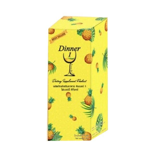 ผลิตภัณฑ์เสริมอาหาร ดินเนอร์ 1 Detox  1 กล่อง มี 5 ซอง