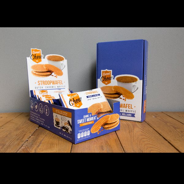 SweetChew Stroopwafel XL Box (12-pack)