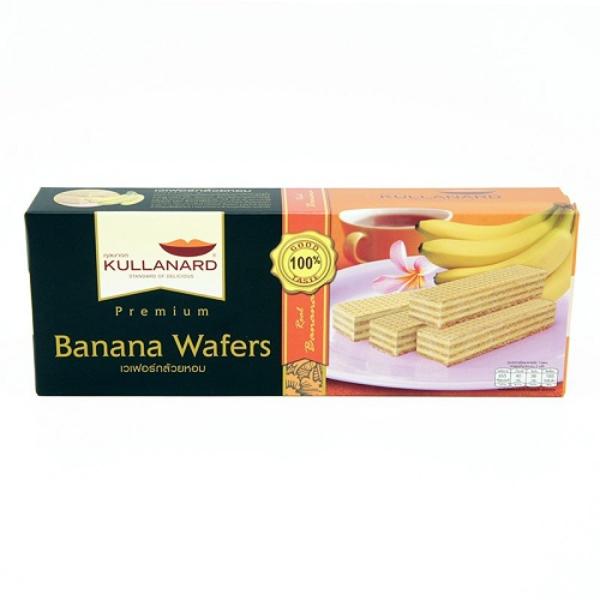 เวเฟอร์กล้วย Banana Wafers แบบลัง