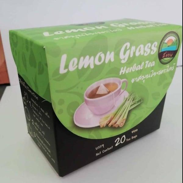 ชาสมุนไพรตะไคร้ 1 กล่อง