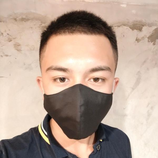 หน้ากากผ้าฝ้ายแพ็ค 6 ชิ้น