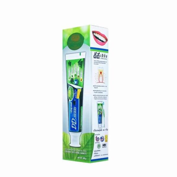 ยาสีฟันสมุนไพร ดีดีเฮิร์บ สูตรออริจินอลพีเมี่ยมชาร์โคล ผสมผงถ่านไม้ไผ่
