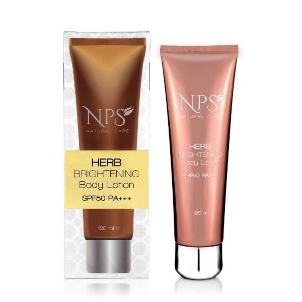 โลชั่นบำรุงผิว Herb Brightening Body Lotion SPF50 PA+++