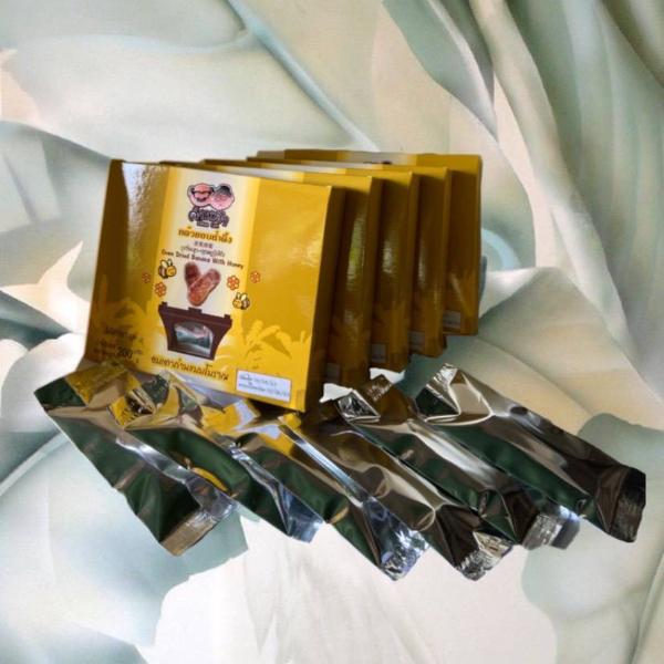คำหล้ากล้วยอบน้ำผึ้ง (แพ็ค 5 กล่อง)