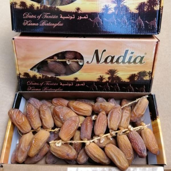 อินทผลัม Nadia กล่อง 500 กรัม อินทผาลัม อบแห้ง