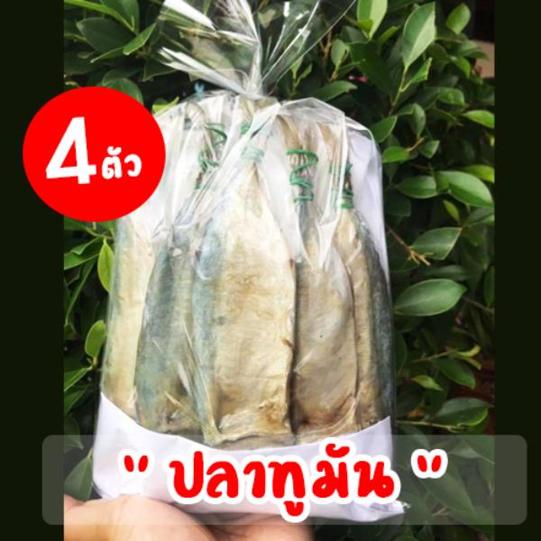 ปลาทูมัน (1 แพ็ค มี 4 ตัว)
