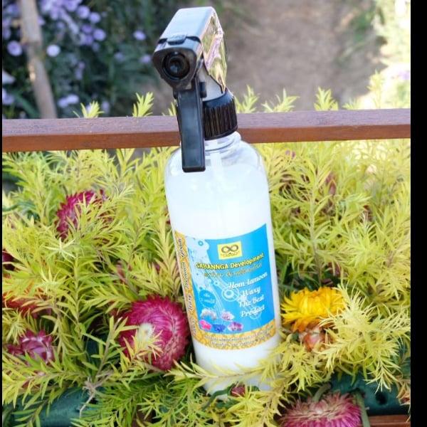 ผลิตภัณฑ์ทำความสะอาดภายในรถยนต์ HOM - LAMOON WAXY CAR (กลิ่นดอกไม้ 5 ชนิด)