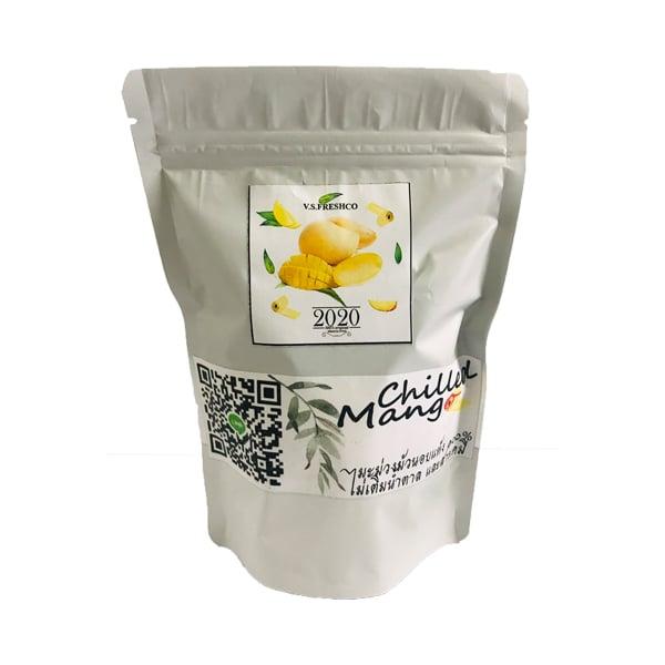 มะม่วงม้วนอบแห้งธรรมชาติ 100 กรัม