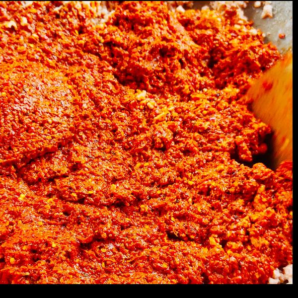 น้ำพริกปลาร้าบอง แม่วรรณา (แพ็ค 2 กระปุก )