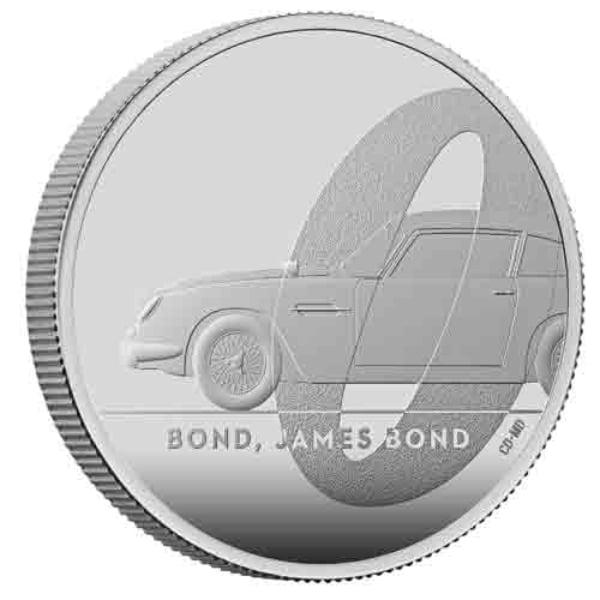 เหรียญเงินที่ระลึกภาพยนตร์เจมส์ บอนด์ 007 (ชุด 1)