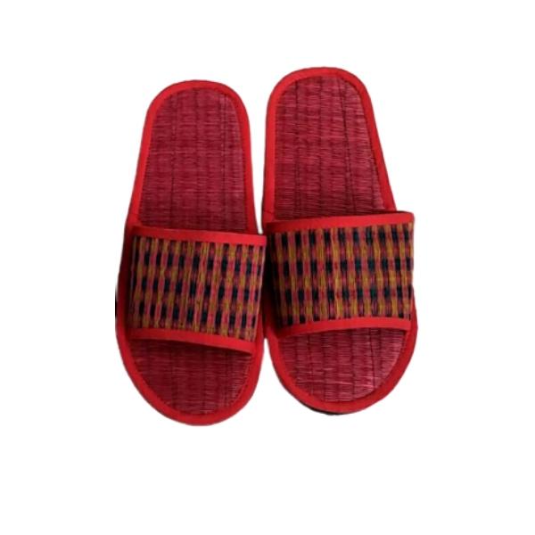 รองเท้าเสื่อ สีแดง