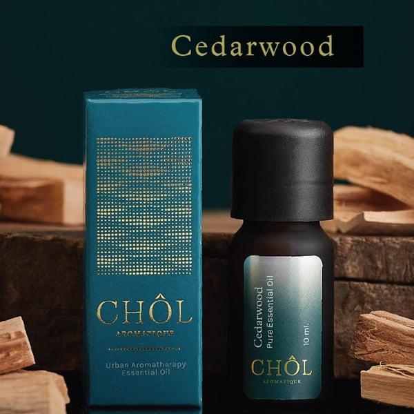 น้ำมันหอมระเหย กลิ่น Cedarwood