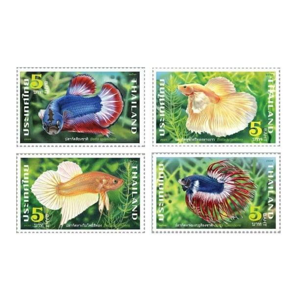แสตมป์ สัตว์น้ำประจำชาติไทย ชุด (1197)