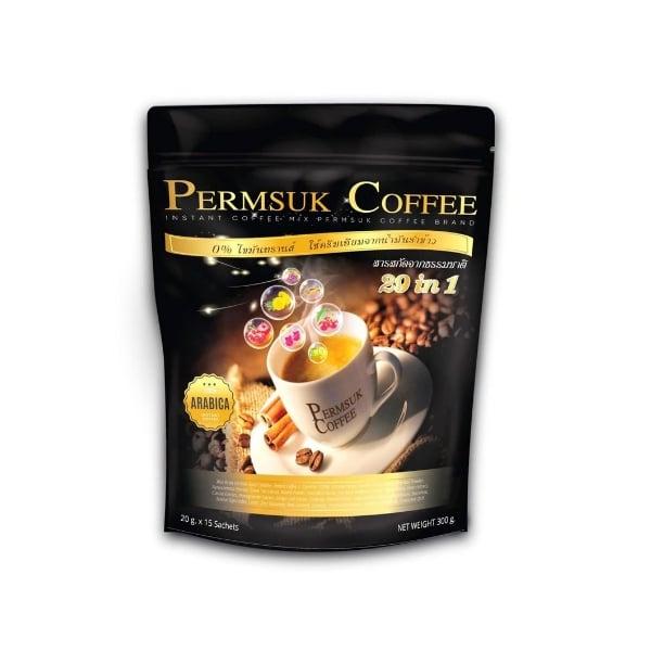 เพิ่มสุข คอฟฟี่ กาแฟอาราบิก้าแท้ 100%