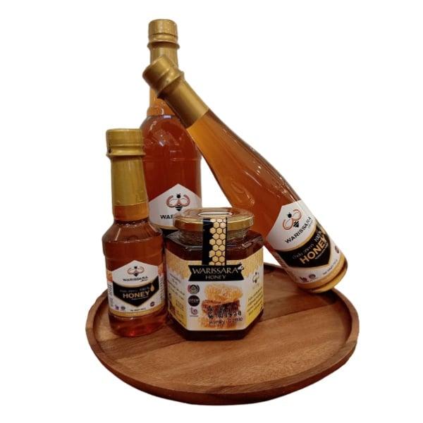 น้ำผึ้งแท้ 100% วริศรา น้ำผึ้งเดือนห้า อร่อยเข้มข้น
