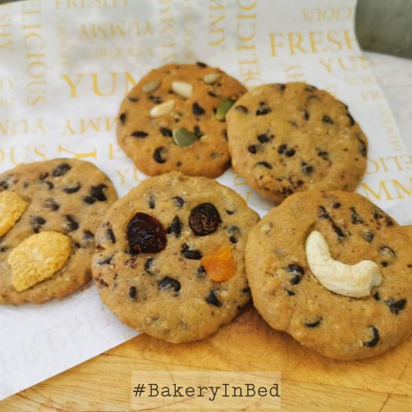 คุกกี้นิ่ม Soft Cookies 5 รส
