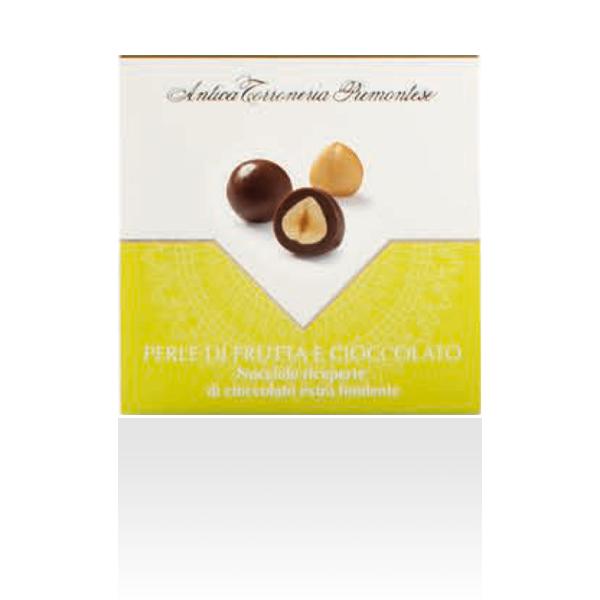 แอนติก้า -  ช็อคโกแลตผสมเฮเซนัท Dragees nocciola fondente astuccio