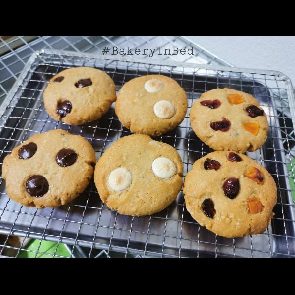 ชุดคุกกี้นิ่ม Soft Cookies 3 รส 2 ถุง