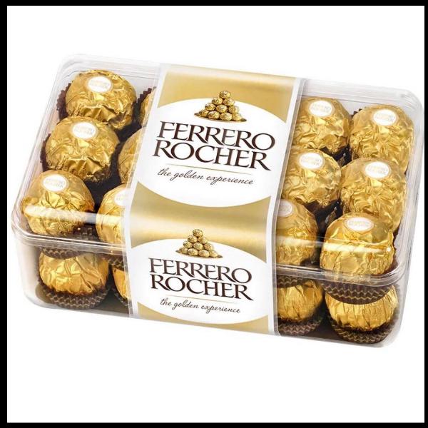 ช็อกโกแลต เฟอเรโร่ Chocolate Ferrero Rocher กล่อง 30 ลูก
