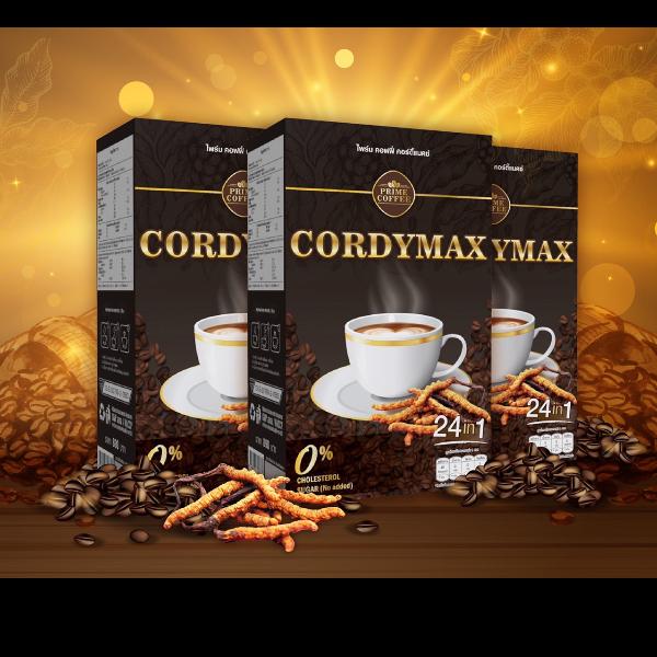 กาแฟสุขภาพ CORDYMAX