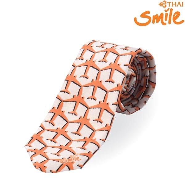Thai Smile Airways - SMILE SHOP เนคไทไทยสมายล์สีส้ม