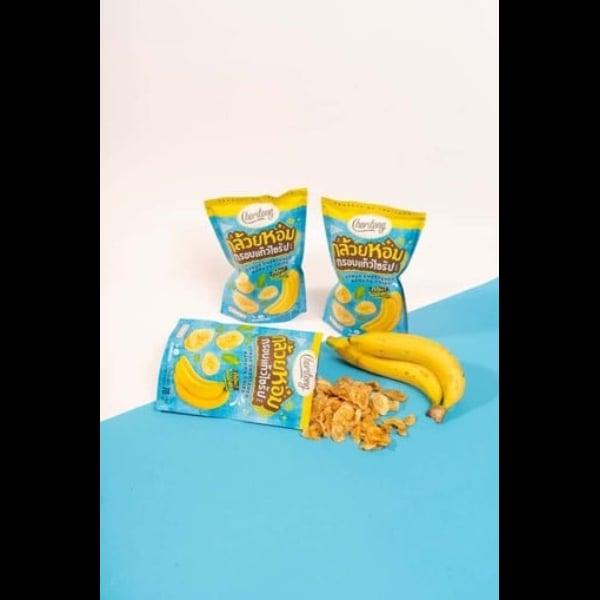 กล้วยหอมกรอบแก้วไซรัป จำนวน 6 ถุง