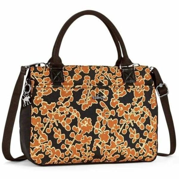 กระเป๋า KIPLING CARALISA - FLORAL METALLIC [K1665318Y]