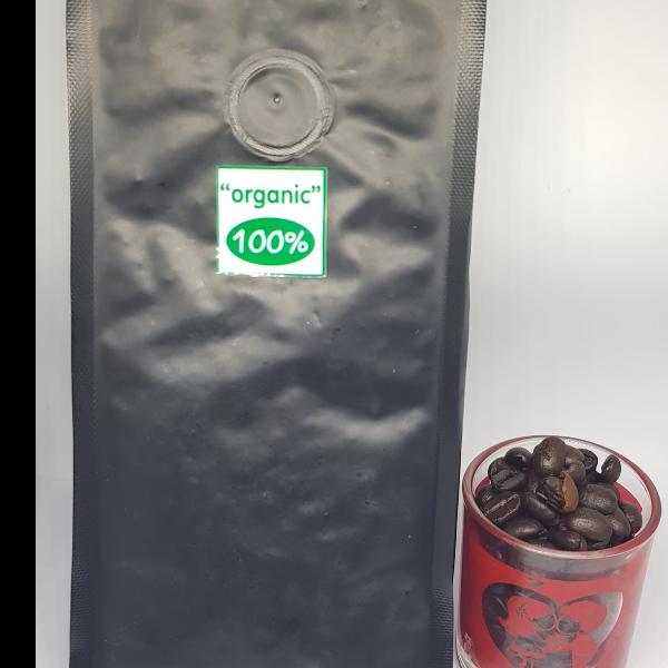 เม็ดกาแฟ ยอดดอยวาวี คั่วขนาดหนัก (รสเข้มข้น) 250กรัม