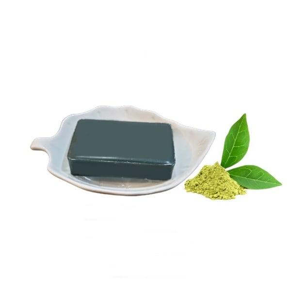 TANN Green Tea Detox Soap สูตร Premium Oriental Herbal ชาเขียวดีท็อกซ์ 120g.