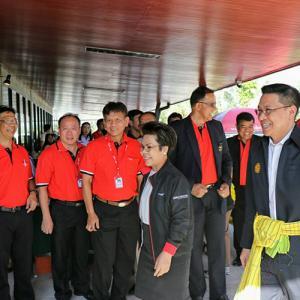 รัฐมนตรีว่าการ กระทรวงดิจิทัลเพื่อเศรษฐกิจและสังคม ลงพื้นที่ ตรวจราชการ โครงการ ระบบร้านค้าดิจิทัลชุมชน (Point of Sale  POS) ณบริษัทอินทผาลัม