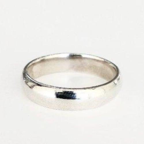 แหวนเรียบเงินแท้ แหวนเกลี้ยง กว้าง 5 mm. รุ่น SSR-1