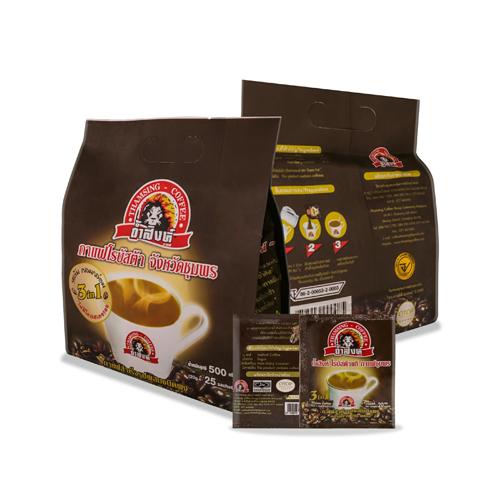 กาแฟถ้ำสิงห์ 3in1 (3ห่อ/75ซอง)