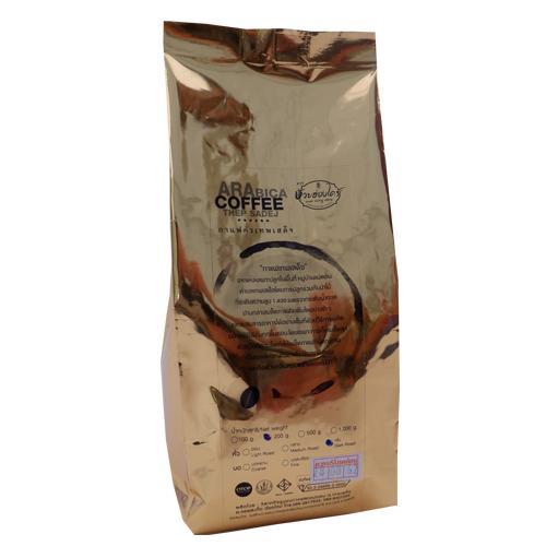 กาแฟคั่วอาราบิก้าบด ชนิด dark roast